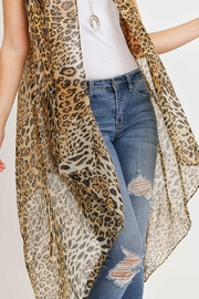 Riah Fashion Knee Length Printed Leopard - Other