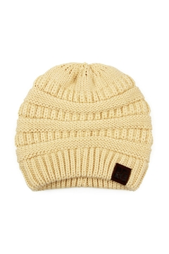 Riah Fashion Knitted-Beanie - Product List Image