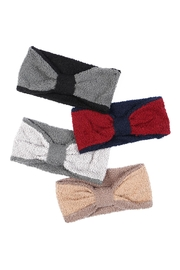 Riah Fashion Knotted-Fleece-Headband-Wrap-Assorted-Set - Front cropped