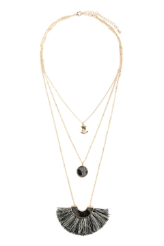 Riah Fashion Layered Pendant Necklac - Alternate List Image