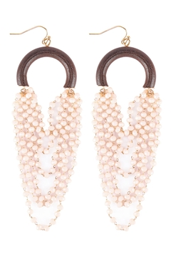 Shoptiques Product: Layered-Statement-Hook-Earrings