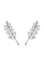 Riah Fashion Leaf Earring Crawler - Product Mini Image