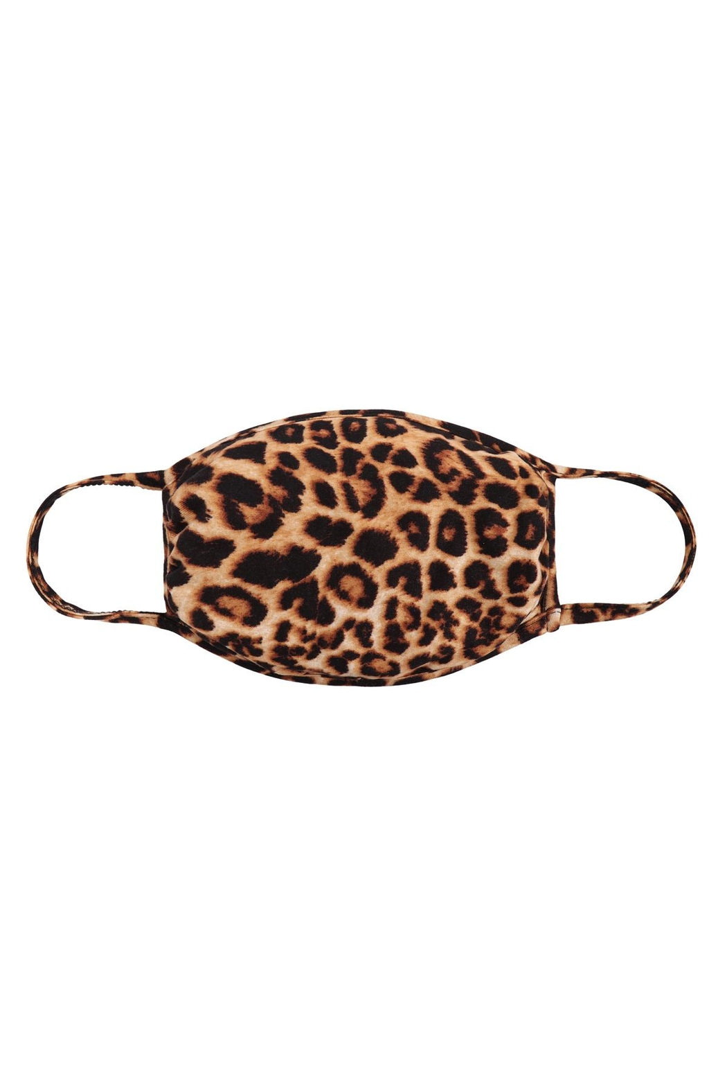 Riah Fashion Leopard-Print-Reusable-Face-Mask-For-Adults - Main Image
