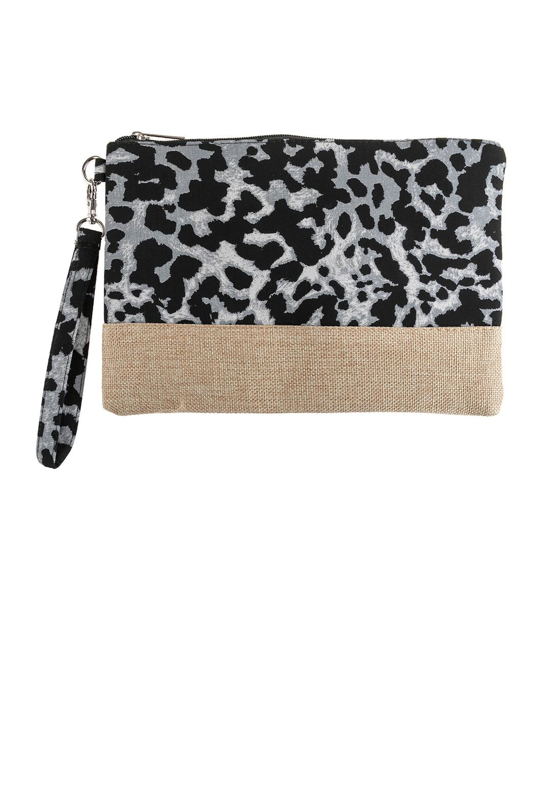 Riah Fashion Leopard Printed Bag - Main Image