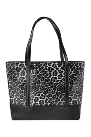 Riah Fashion Leopard Printed Tote Bag - Product Mini Image