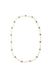 Riah Fashion Long Beaded Necklace - Product Mini Image