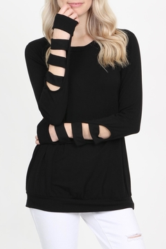 Shoptiques Product: Long-Sleeved Knit Top