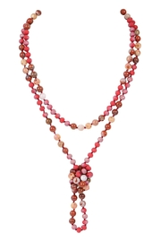 Riah Fashion Longline Hand Knotted Necklace - Product Mini Image