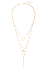 Riah Fashion Majestic Layered Necklace - Product Mini Image