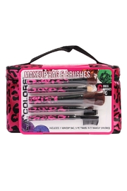 Riah Fashion Makeup Bag & Brushes - Product Mini Image