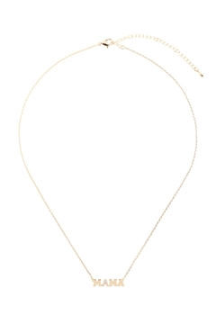 Riah Fashion Mama-Letter-Insparational-Necklace - Alternate List Image