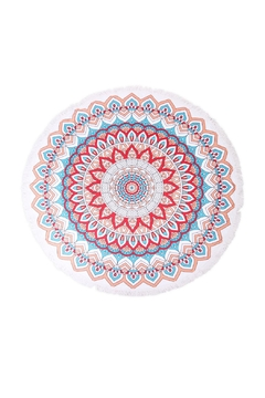 Riah Fashion Mandala Flower Towel - Alternate List Image