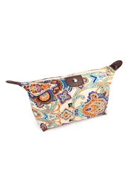 Riah Fashion Mandala Print Cosmetic Bag - Product Mini Image