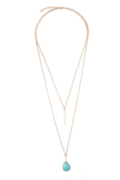 Riah Fashion Julia Matchstick Layer Necklace - Product List Image