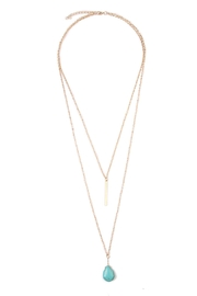 Riah Fashion Julia Matchstick Layer Necklace - Product Mini Image