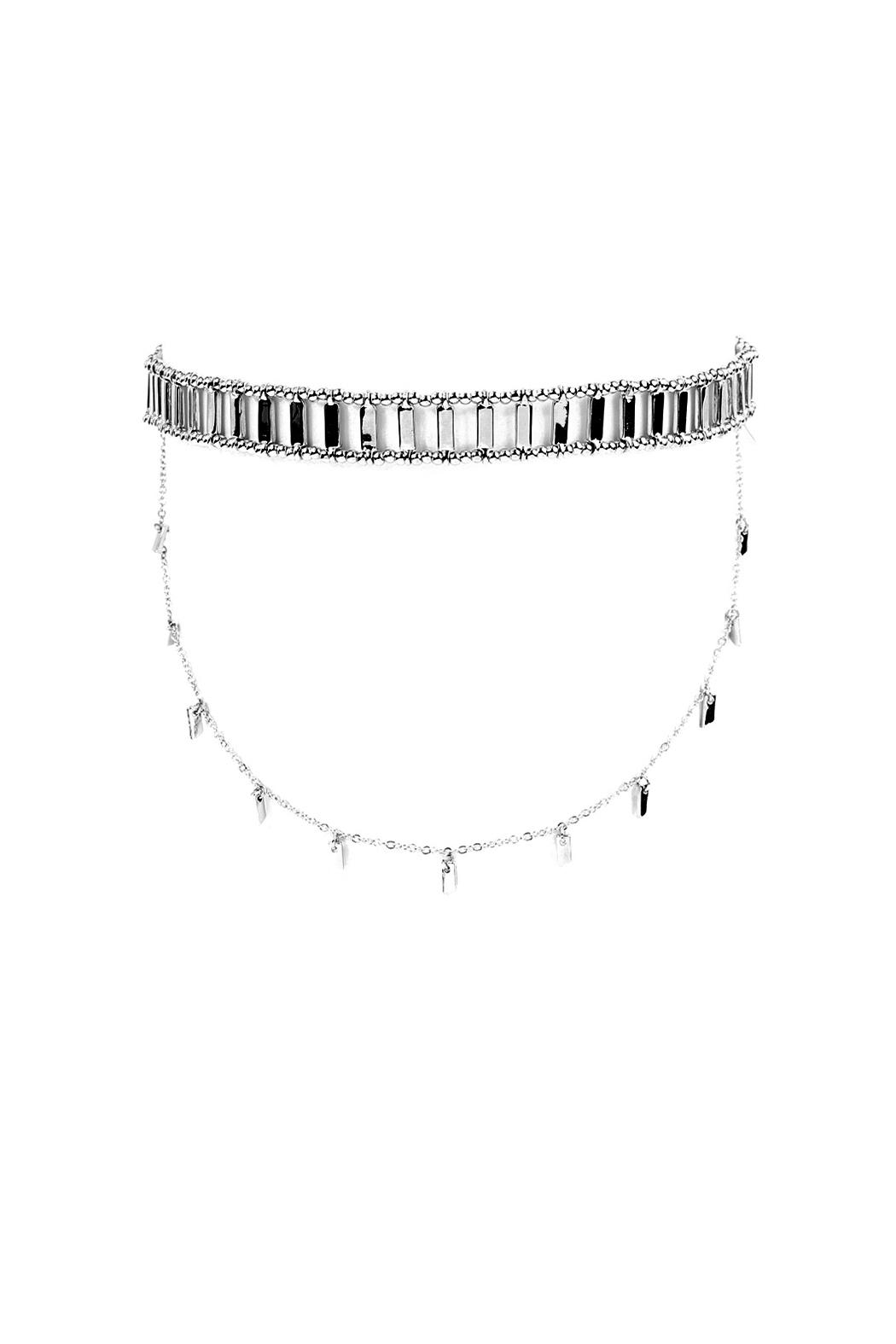 Riah Fashion Matchstick Layered Choker - Main Image