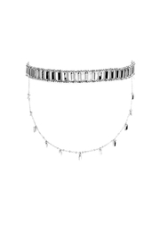 Riah Fashion Matchstick Layered Choker - Product Mini Image
