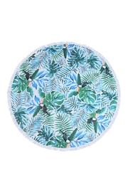 Riah Fashion Maui-An- Sons Tropical-Pattern-Round Towel - Product Mini Image