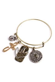 Riah Fashion Meaning Charm Wired-Bracelet - Product Mini Image