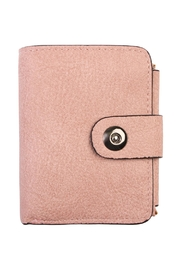 Riah Fashion Pink Faux Leather Wallet - Product Mini Image
