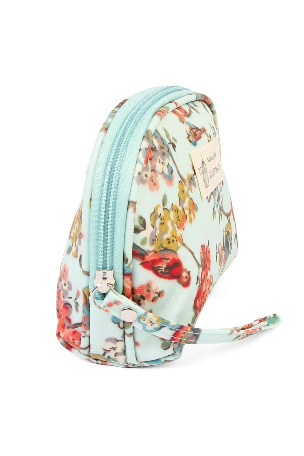 Riah Fashion Bird Petite Cosmetic Bag - Front Full Image