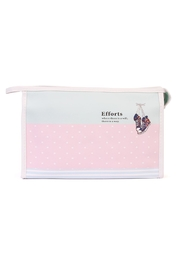 Riah Fashion Polka Cosmetic Bag - Product Mini Image