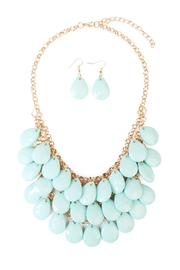 Riah Fashion Multi-Beaded Necklace Set - Product Mini Image
