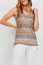 Riah Fashion Multi Color Top - Side cropped