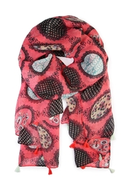 Riah Fashion Multi Printed Oblong Scarf - Product Mini Image
