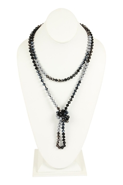 Shoptiques Product: Multi-Tone Glass-Beads-Necklace