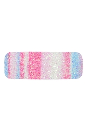 Riah Fashion Multicolor Sequined Rectangle Hair Clip Set - Back cropped