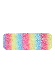 Riah Fashion Multicolor Sequined Rectangle Hair Clip Set - Front cropped