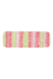 Riah Fashion Multicolor Sequined Rectangle Hair Clip Set - Front full body