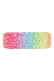Riah Fashion Multicolor Sequined Rectangle Hair Clip Set - Side cropped
