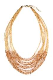 Riah Fashion Multiple-Strand Glass-Beads Statement-Necklace - Product Mini Image