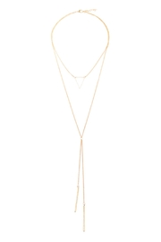Riah Fashion Mystic Layered Necklace - Product Mini Image