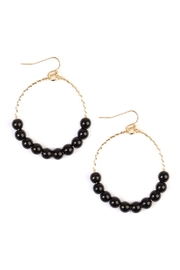 Riah Fashion Natural Stone Earrings - Product Mini Image