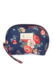 Riah Fashion Navy Petite Cosmetic Bag - Product Mini Image