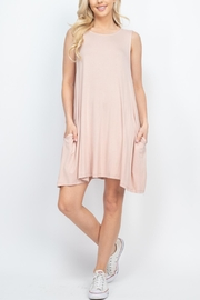 Riah Fashion Nude Dress - Other