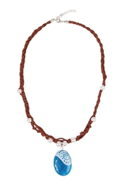 Riah Fashion Ocean Romance Necklace - Product Mini Image
