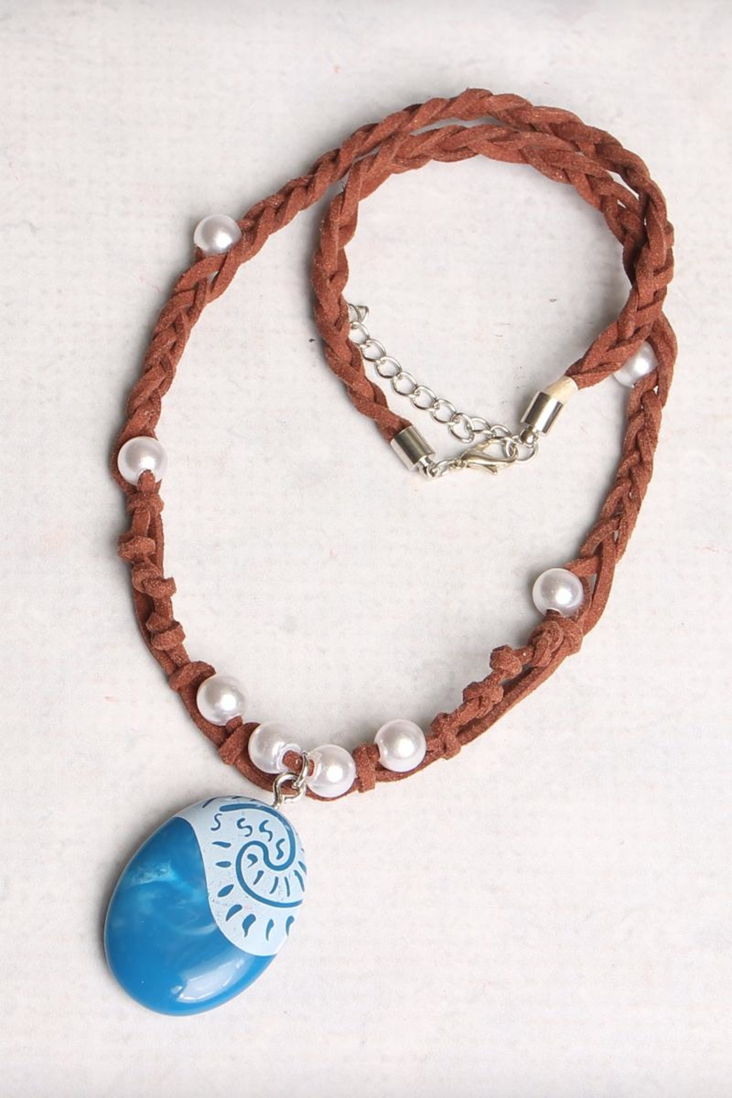 Riah Fashion Ocean Romance Necklace - Side Cropped Image