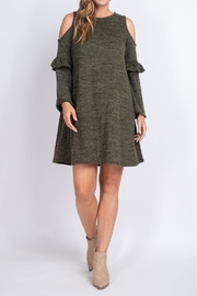 Riah Fashion Olive-Dress - Other