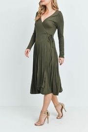 Riah Fashion Olive Dress - Other