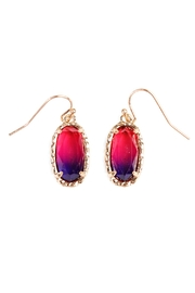 Riah Fashion Ombre Earrings - Product Mini Image