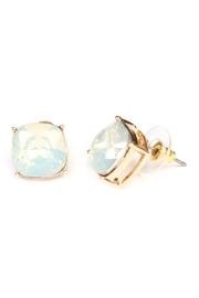 Riah Fashion Opal Cushion Earring - Product Mini Image