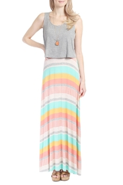 Riah Fashion Open Back Maxi Dress - Product Mini Image