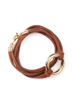 Shoptiques Product: Open Circle Bracelet