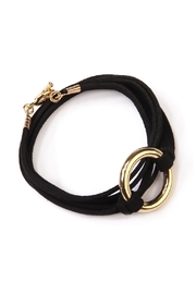 Riah Fashion Open Circle Bracelet - Front cropped