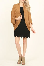 Riah Fashion Open Front Dolman Cardigan - Other