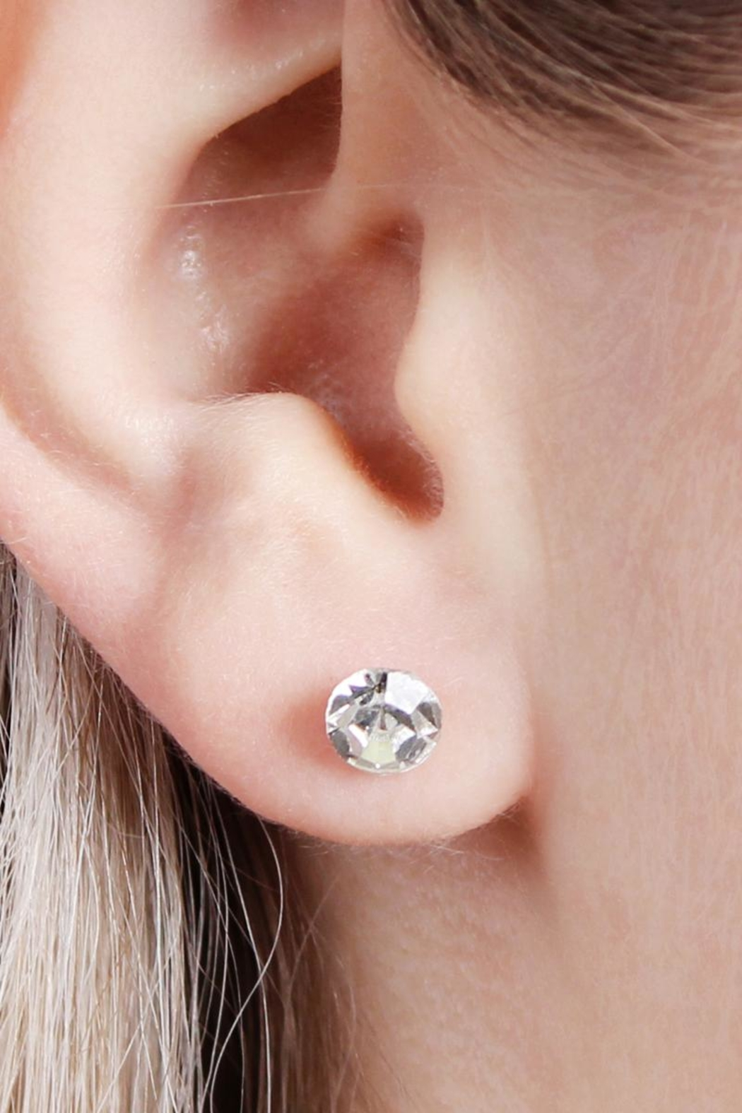 Riah Fashion Owl-&-Cactus 3-Pair Earring-Set - Back Cropped Image